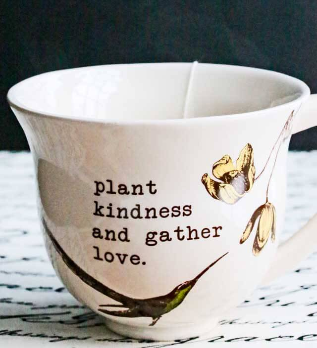 Plant Kindness and Gather Love
