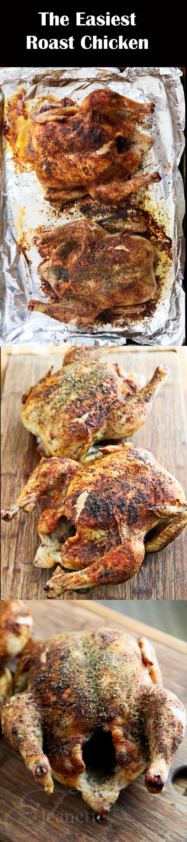 Easy Herb Spiced Roasted Chicken Recipe
