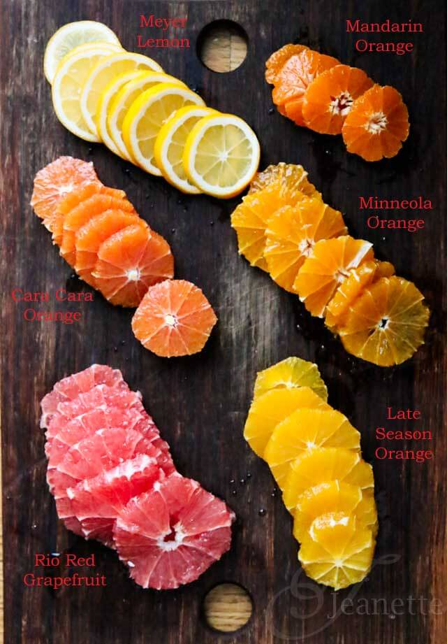 Fresh Citrus Salad © Jeanette's Healthy Living