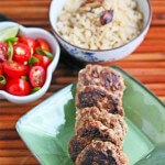 Filipino Turkey Garlic Sausage Patties © Jeanette's Healthy Living