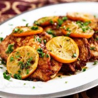 Chicken Scallopine with Meyer Lemon Sauce