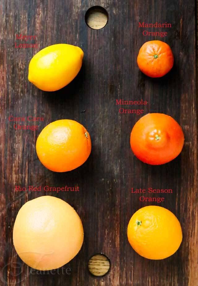 Whole Citrus Fruits