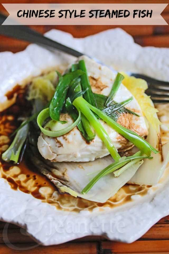 Chinese steamed fish fillet for Asian fish sauce