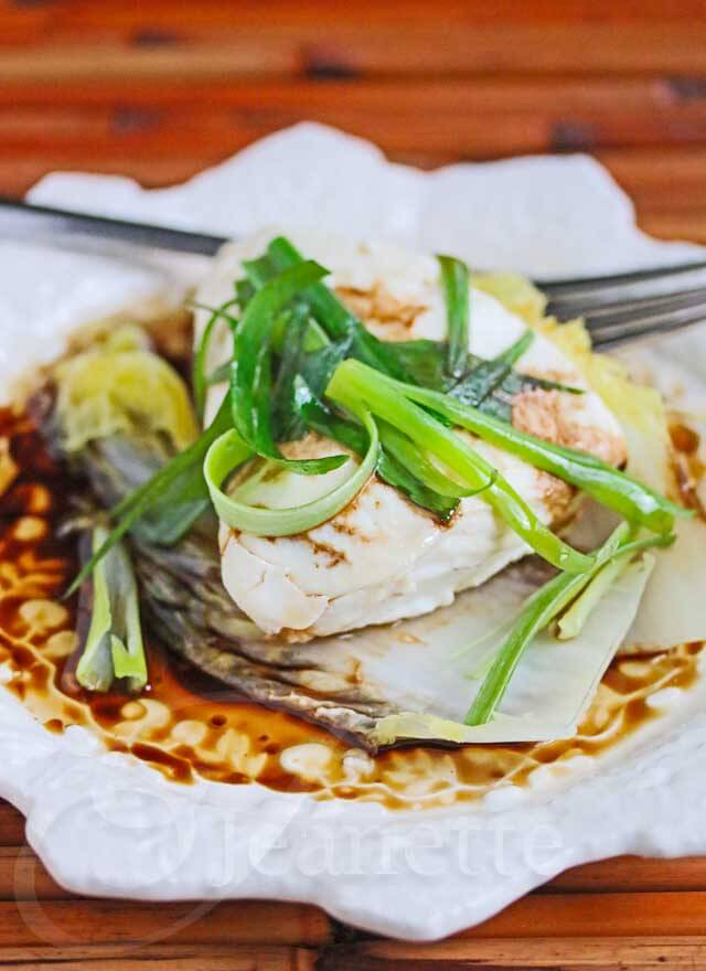 Chinese steamed fish fillet for Steamed fish recipes