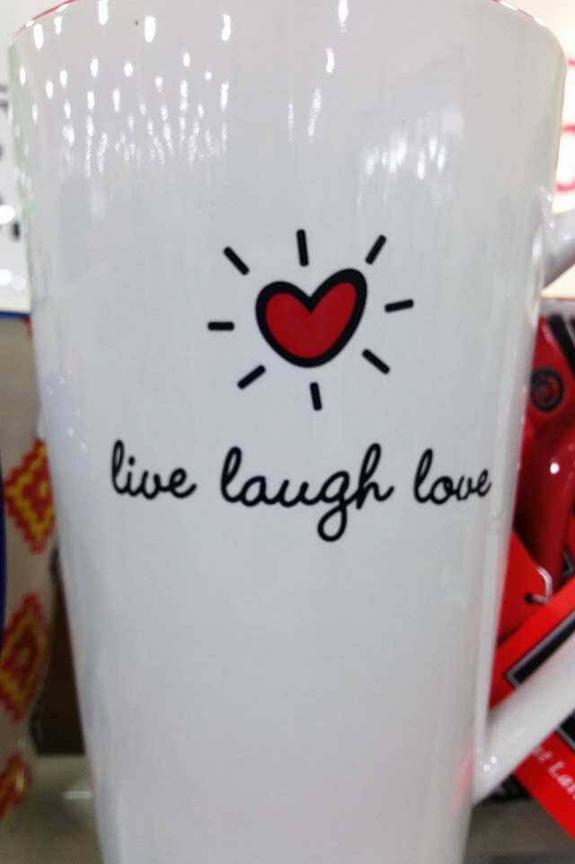 Live Laugh Love Mug Inspiration