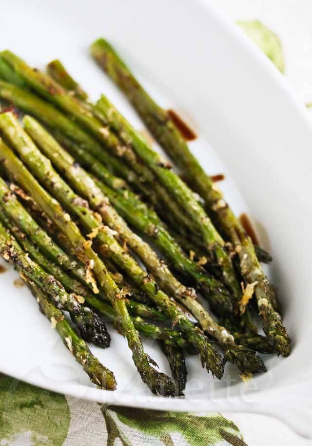 Roasted Asparagus with Parmesan Crust Recipe - Jeanette's ...