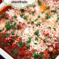 Oven Roasted Quinoa Meatballs © Jeanette's Healthy Living