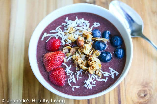 Brazilian Acai Breakfast Bowl Recipe