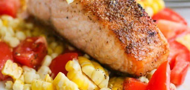 15 Minute Spice Rubbed Roasted Salmon Recipe