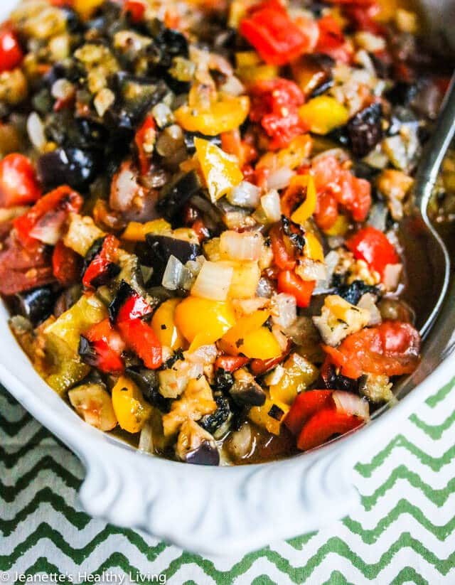 Grilled Ratatouille © Jeanette's Healthy Living