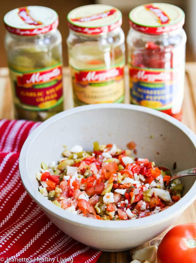 Muffaletta Olive Salad © Jeanette's Healthy Living