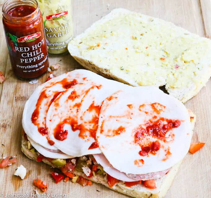 Red Hot Chili Pepper Paste on Muffaletta