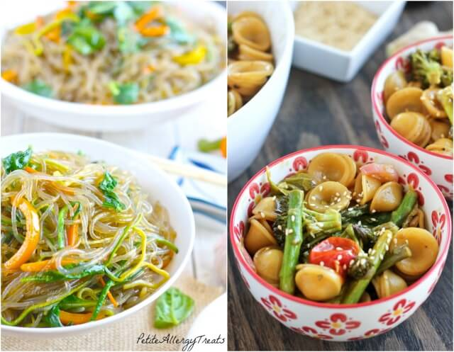 Asian Vegetarian Noodle Recipes