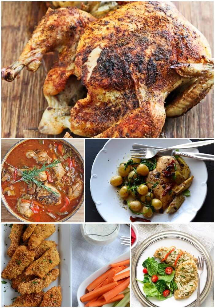Oven Cooked Chicken Recipes
