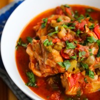 Slow Cooker Creole Chicken Stew-3