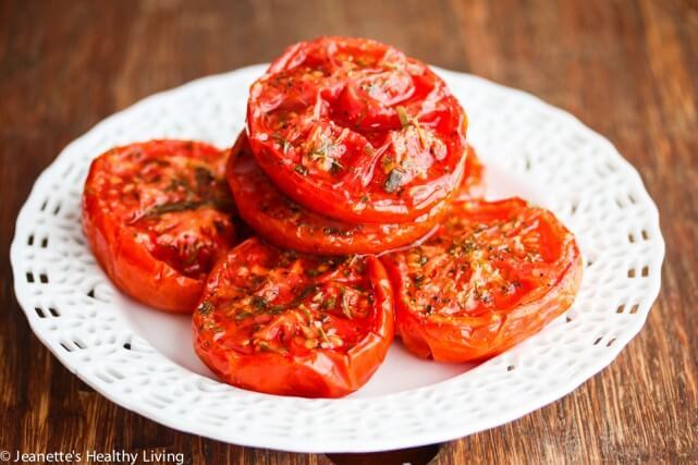 Slow Roasted Summer Tomatoes Recipe