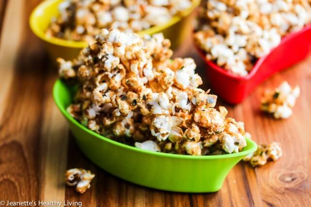 Sweet and Salty Caramel Furikake Popcorn Recipe {Nature+™ Giveaway}