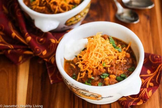 Super Healthy Pumpkin Turkey Chili Recipe