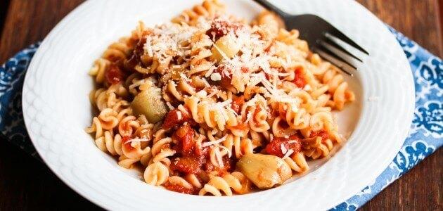 Roasted Garlic Tomato Pasta Sauce Recipe