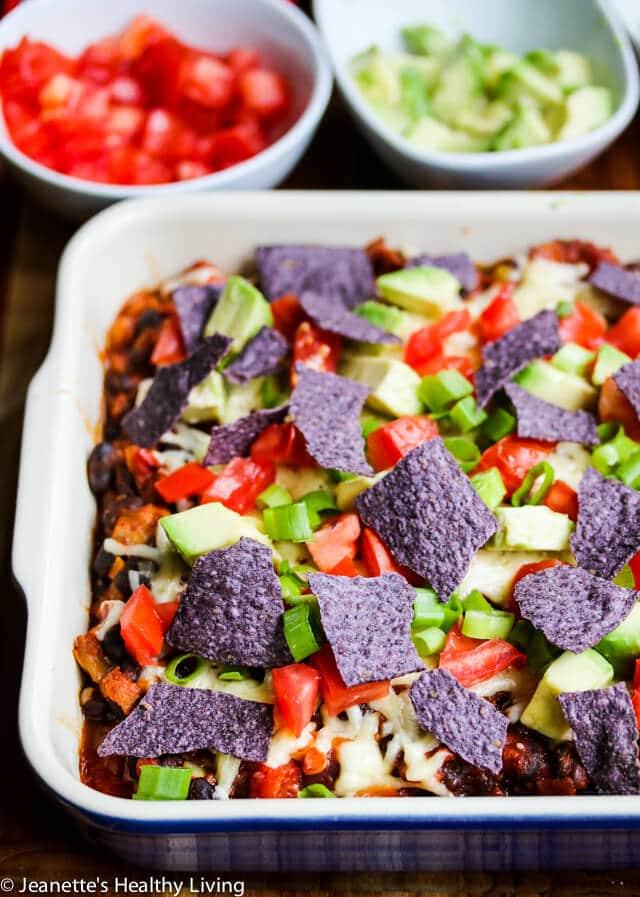 Gluten-Free Turkey Taco Nacho Casserole Recipe