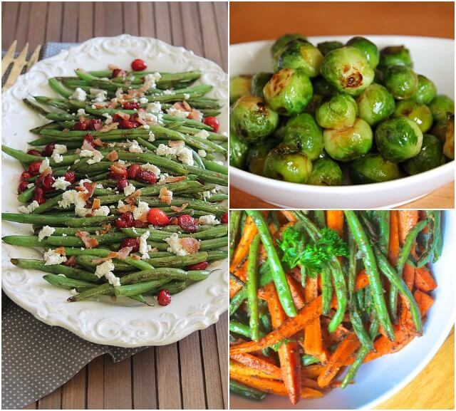 Healthy Brussels Sprout and Green Bean Recipes