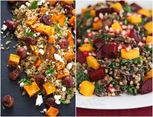 Healthy Salads with Whole Grains
