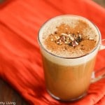 Chestnut Praline Latte - creamy and delicious, this latte is a healthier version of Starbuck's newest latte. Made with real chestnuts and pecans, and cashew milk to make this dairy-free.