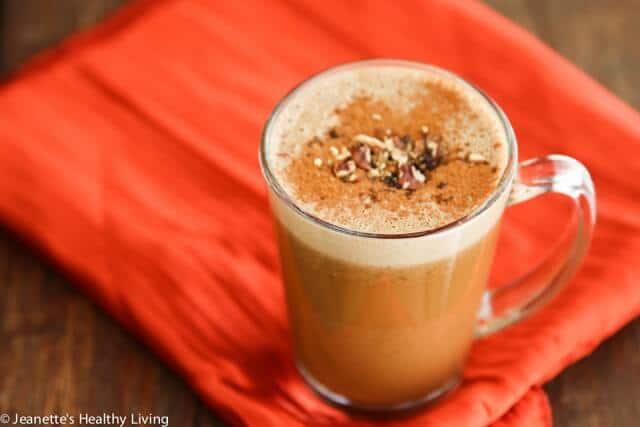 Chestnut Praline Latte (Dairy-Free/Vegan)