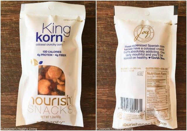 Nourish Snack labeling