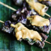 Thai Beef Satay Skewers with Peanut Sauce - I made these for our cocktail party and they were devoured! I will double the recipe next time.