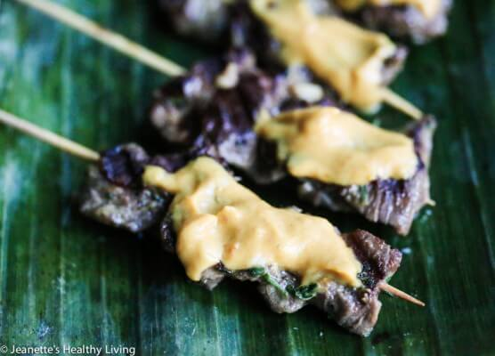Beef Satay Skewers With Habanero Peanut Sauce Recipe ...