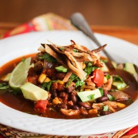 Slow Cooker Chicken Chili Tortilla Soup-4