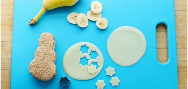 How to make an Edible #MyPlate Snowman