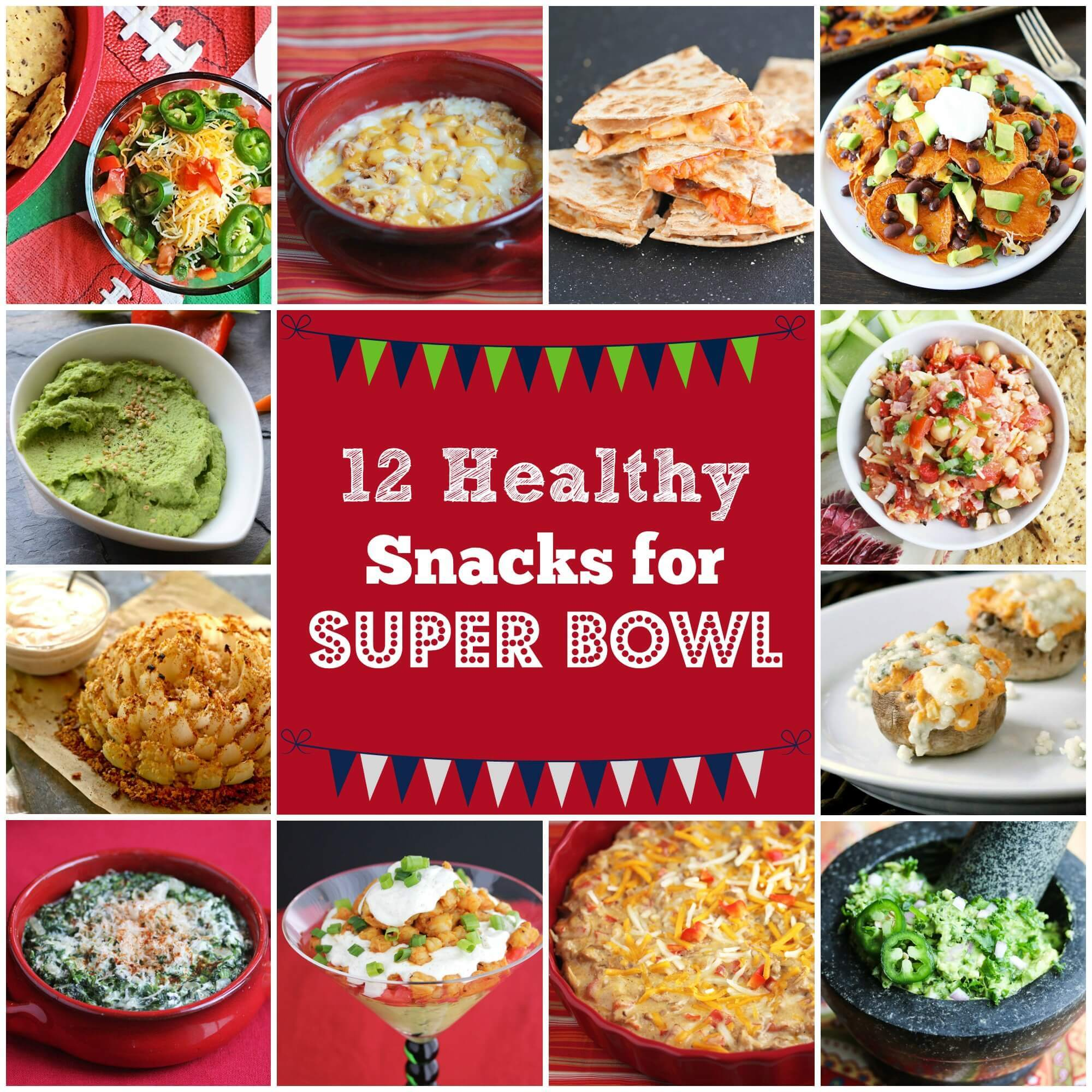 12 Healthy Super Bowl Snack Recipes