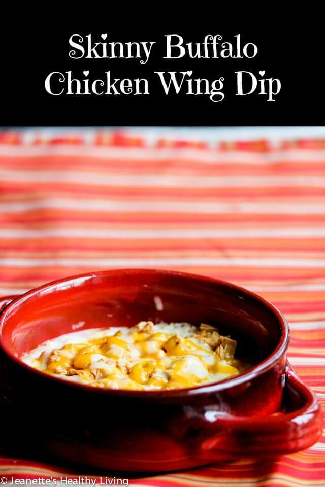 Skinny Buffalo Chicken Wing Dip - this lightened up version of a ...