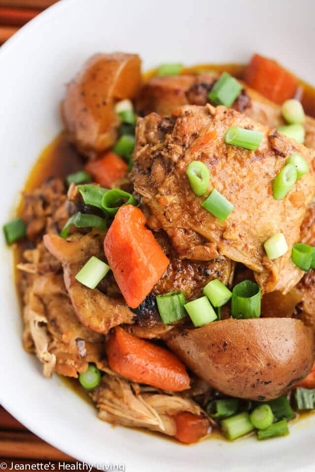 Slow Cooker Chinese Curry Chicken - this is our favorite family curry that we've been making for the past 20 years