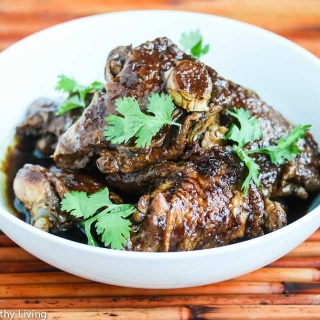 Slow Cooker Chinese Three Cup Chicken Recipe