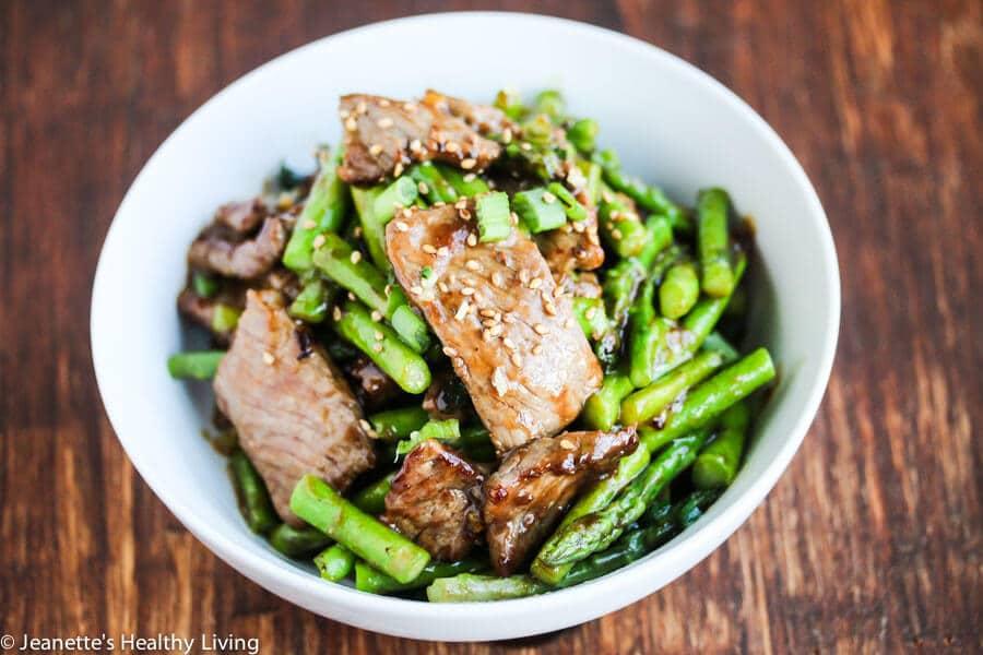 chicken asparagus oyster sauce recipe