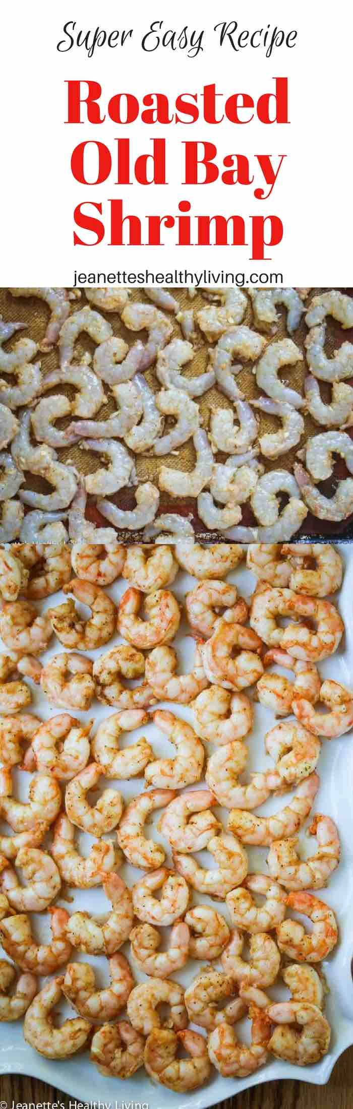 Roasted Old Bay Shrimp - these are so delicious and easy to make - perfect for a quick party appetizer with a kick, better than plain old shrimp cocktail