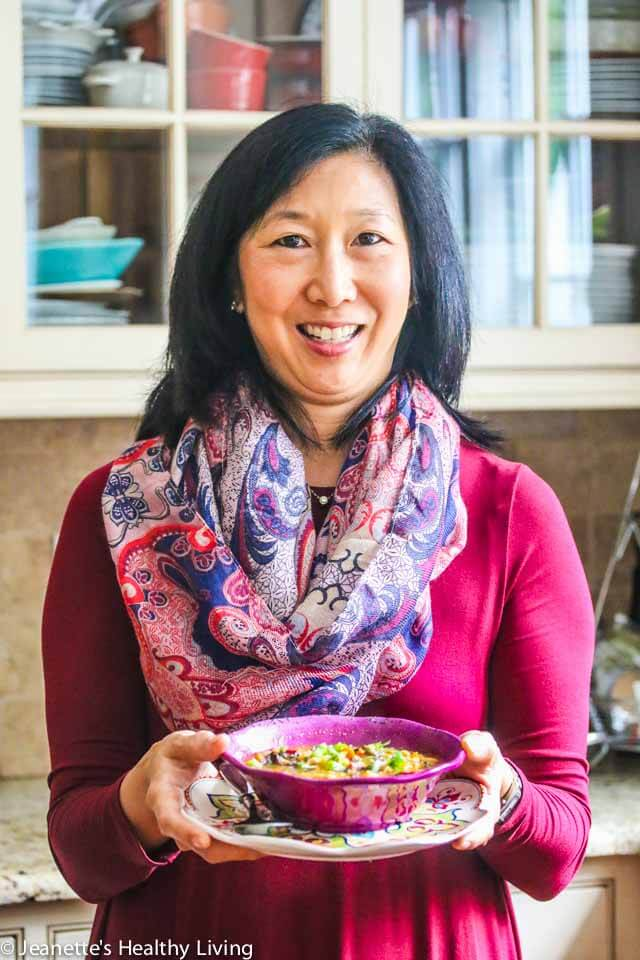 Jeanette Chen cooking for cancer patients ~ http://jeanetteshealthyliving.com
