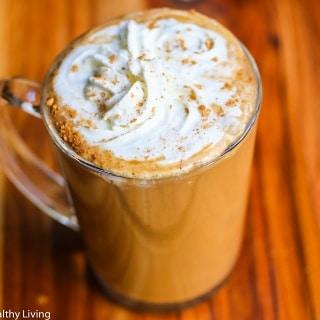 Skinny Pumpkin Spice Latte Recipe {Starbucks Copycat}