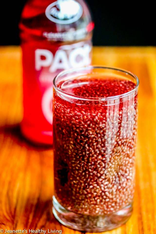 Healthy Hydration and Cranberry Pomegranate Chia Fresca Drink Recipe ...