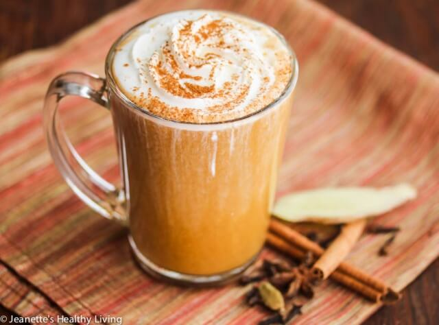 Skinny Pumpkin Chai Latte 4 640x474 How Many Calories Are There In A Cup Of Coffee
