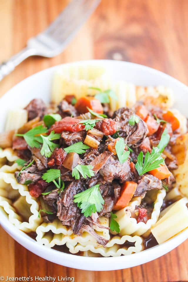 Slow Cooker Red Wine Beef Shank Stew Delicious Over Rice Pasta Or Mashed Potatoes