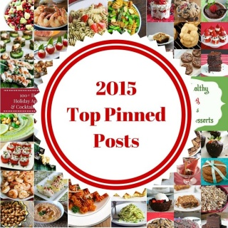 Reflections and 2015 Most Pinned Posts on Jeanette's Healthy Living