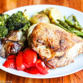 Easy Pan Roasted Chicken and Vegetables Recipe