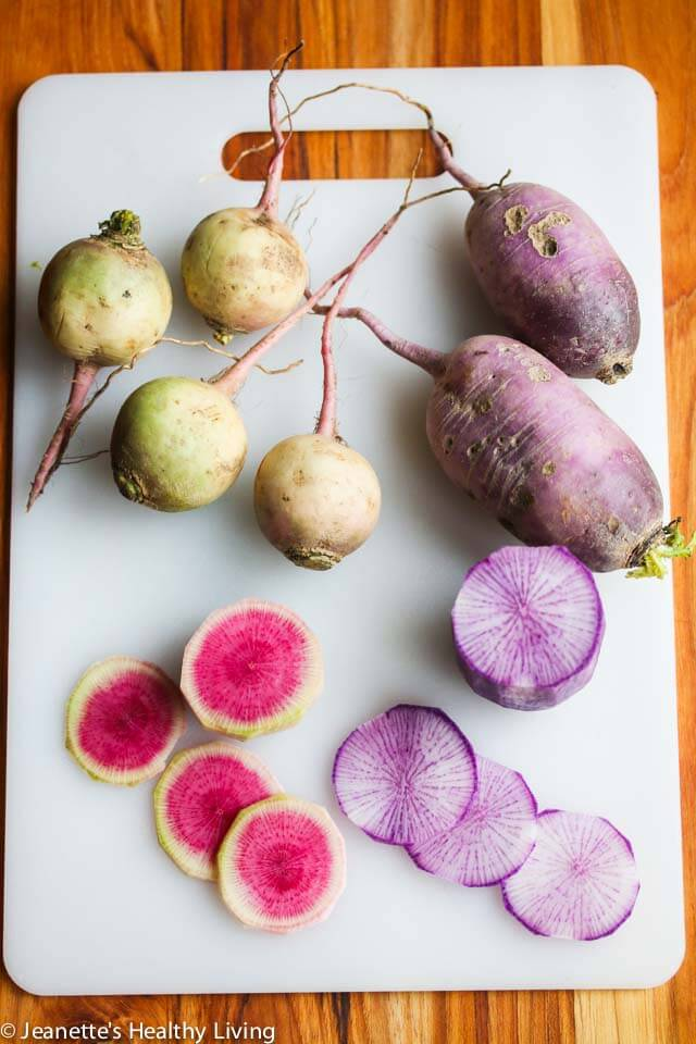 Watermelon Radish and fancy radish