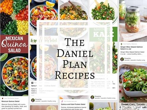 Daniel Plan Recipes on Pinterest