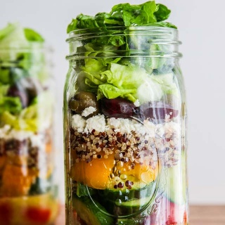 Mediterranean Salad In A Jar Recipe