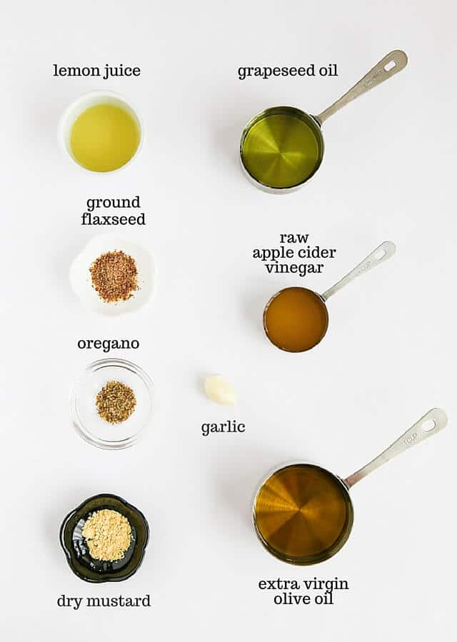 Antioxidant Salad Dressing - this is a healthy, versatile salad dressing made with ground flax seeds and raw apple cider vinegar